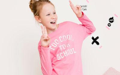 Langarm Shirt für Mädchen